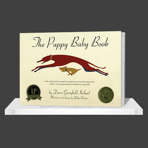 Puppy Baby Book Hardcover