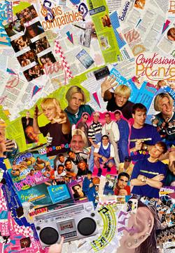 Collage Backstreet Boys