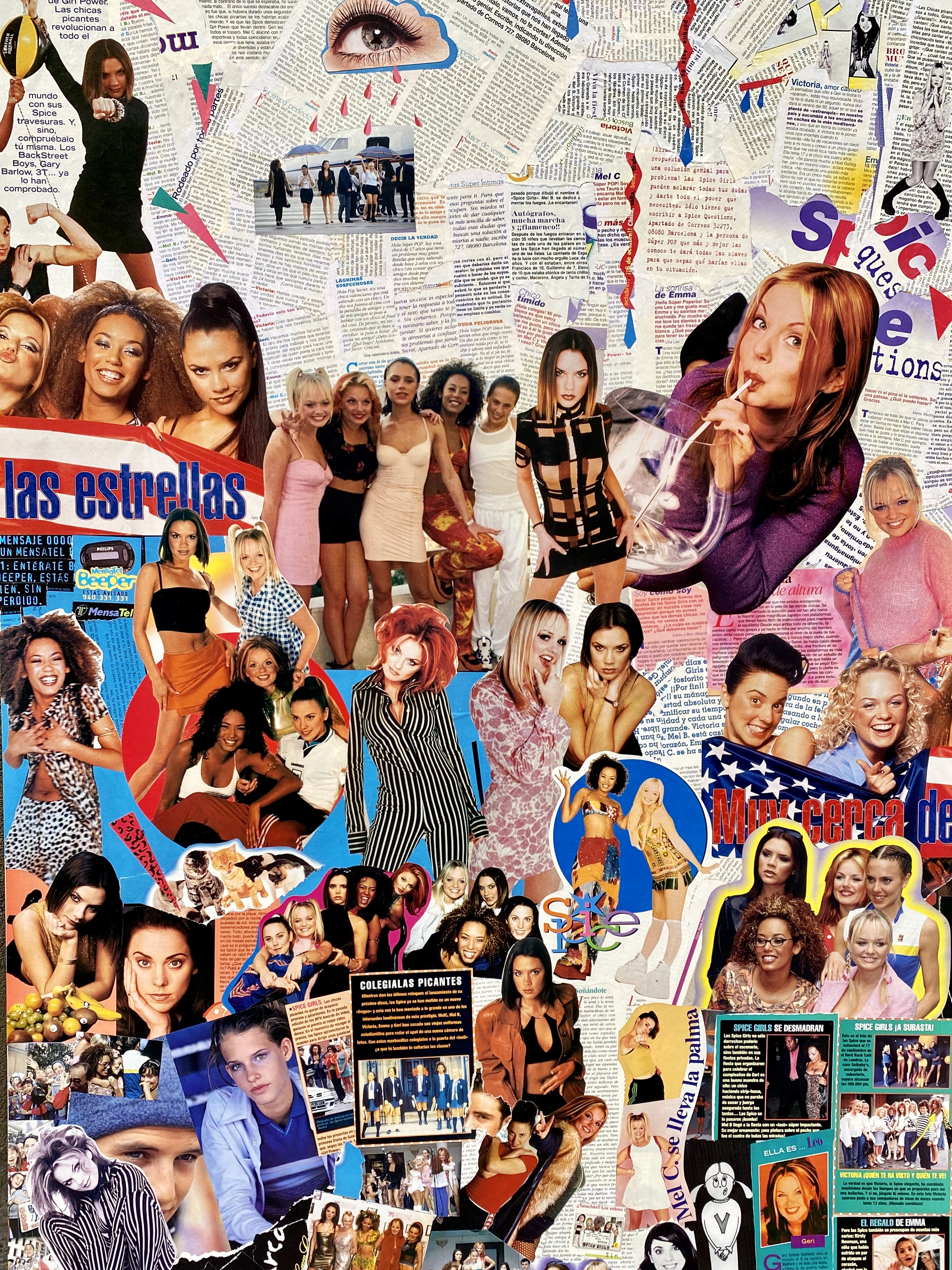Collage Spice Girls