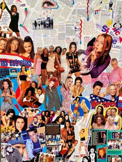 Collage Spice Girls