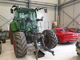 New Electric Automotive Tractor Heavy Eq