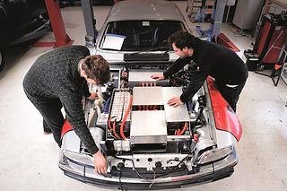 New Electric Engineering EV Motor Controller Tuning