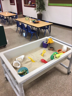 Our sand table is a huge hit!
