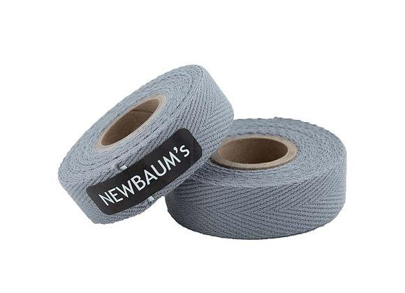 Lenkerband - Baumwolle grau