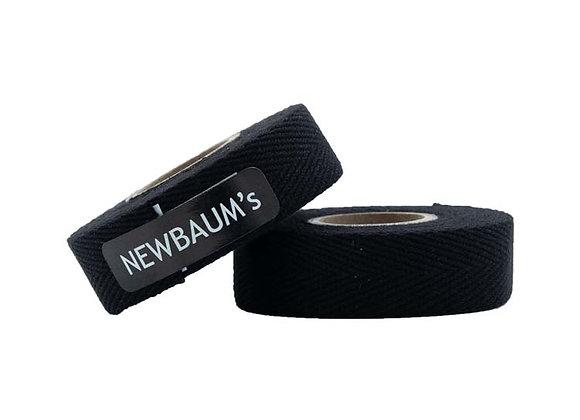 Lenkerband - Baumwolle schwarz