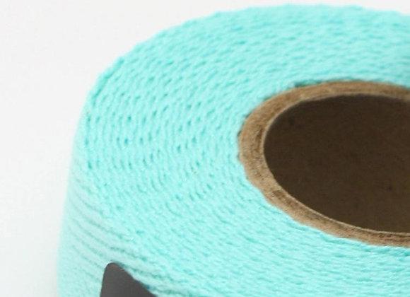 Lenkerband - Baumwolle celeste