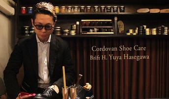 Brift H 長谷川氏によるコードバン磨きテクニック   Cordovan Shoes Pattern Order