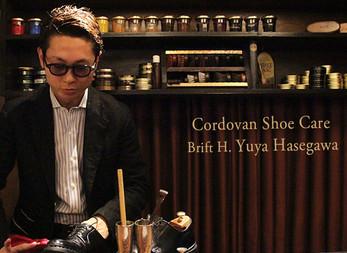 Brift H 長谷川氏によるコードバン磨きテクニック | Cordovan Shoes Pattern Order