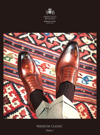 新しいイタリア靴 PREMIUM CLASSIC 誕生    made in Italy