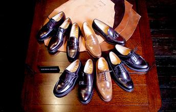 ホーウィン社製シェルコードバン人気のバーボンが追加入荷です! Cordovan Shoes Pattern Order
