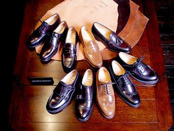 ホーウィン社製シェルコードバン人気のバーボンが追加入荷です!|Cordovan Shoes Pattern Order