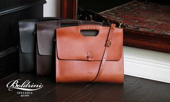 イタリアから届いた新作バッグコレクション   BOLDRINI SELLERIA