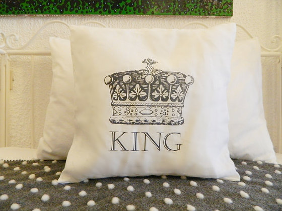 Federa cuscino quadrato King