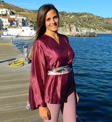 Camicia modello kimono