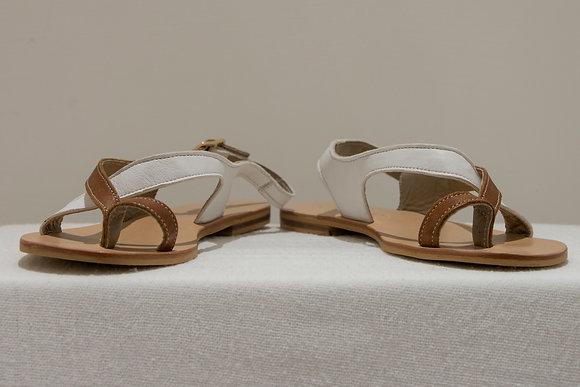 Sandali bicolore