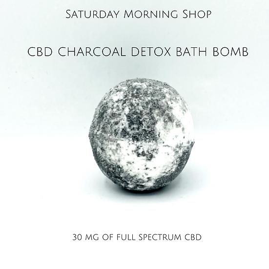 Charcoal Detox CBD Bath Bomb