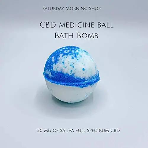 CBD Bath Bomb - Medicine Ball - Mint