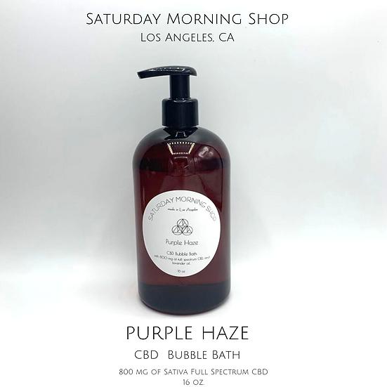 CBD Bubble Bath - Purple Haze