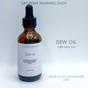 Dew Oil - CBD Infused Face Oil