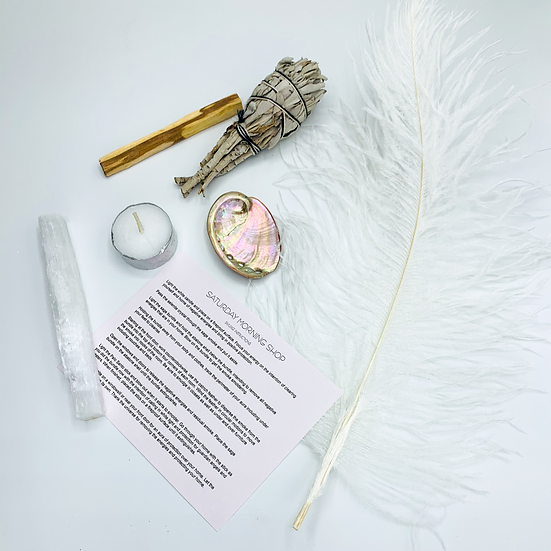 Smudge Kit: Clear Negative Energies and Bring in Protection
