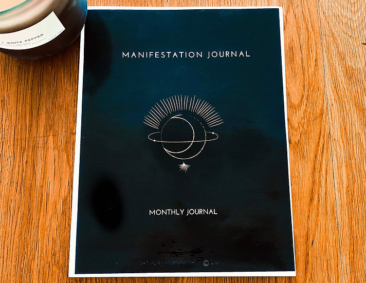 Daily Manifestation Journal - Change Your Beliefs - 30 Days - Prompts - 50 pages