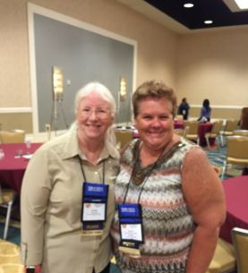 Kathy Burkhardt & Denise Fonzo