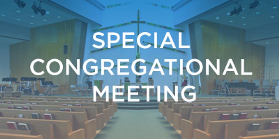 Special Congregational Meeting - Shepherd of Tomorrow