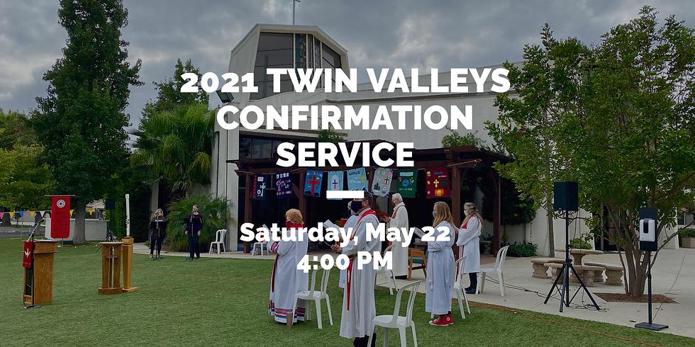 Twin Valleys Lutheran Parish Confirmation Service