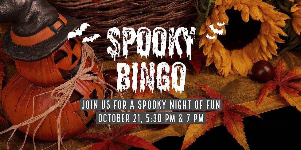 Spooky Bingo Night!