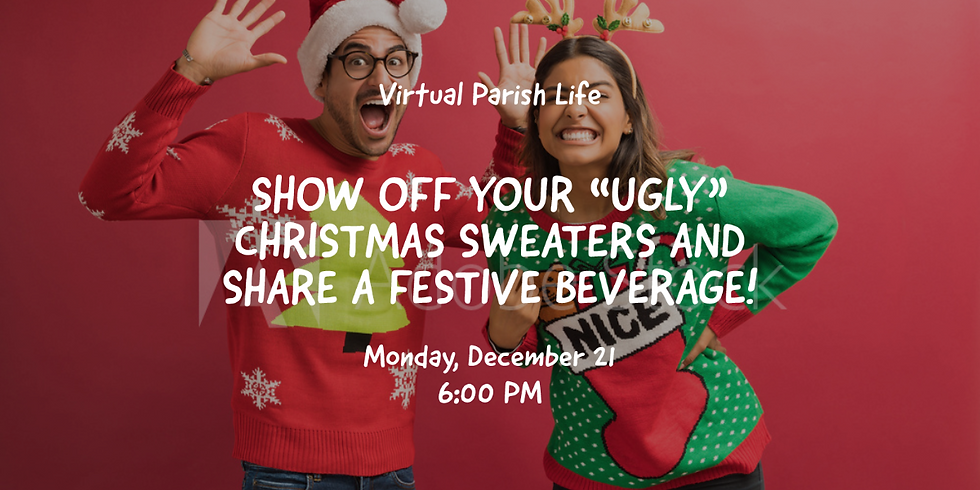 """Show us your """"Ugly Sweater"""" and share a festive drink"""