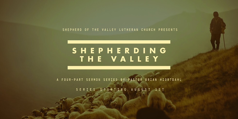 August Sermon Series: Shepherding the Valley