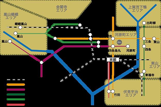ホステルエビ 地図
