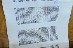 Photo 133 - Lenin Scientific Library - Inspection of Lettering on Each Page - YL