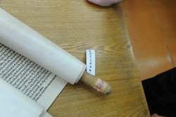 Photo 200 - Lenin Scientific Library - Torah Library Catalogue # 98 with Tape on