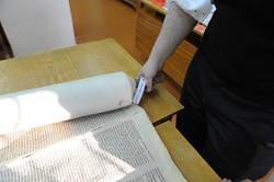 Photo 201 - Lenin Scientific Library - Torah Library Catalogue # 99 with Wooden