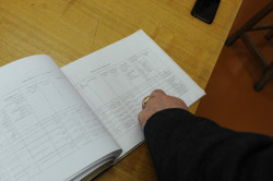 Photo 10 - Lenin Scientific Library - Catalogue of Torahs & Location in Vault Ro