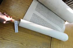 Photo 204 - Lenin Scientific Library - R. Koves Examines Torah Library Catalogue