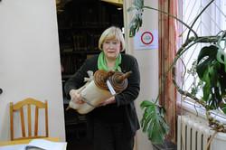 Photo 49 - Lenin Scientific Library - Guardian Brings Next Torah for Inspection
