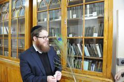 Photo 218 - Lenin Scientific Library - Guardian's Assistant Asks R. Koves to Mak