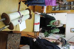 Photo 27 - Lenin Scientific Library - Guardian Brings Out Next Torah (Upside Dow