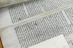 Photo 68 - Lenin Scientific Library - R. Koves Documenting Damage to Torah - YLK