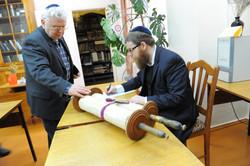 Photo 26 - Lenin Scientific Library - R. Koves & Sessler Document Torah Inspecti