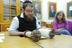 Photo 184 - Lenin Scientific Library - R. Koves Discovers That Torah Has Proof o