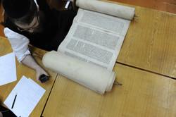 Photo 109 - Lenin Scientific Library - R. Koves Inspects Another Torah - YLK_656