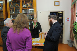 Photo 5 - Lenin Scientific Library - Negotiating over Permission to See Torahs -