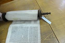 Photo 152 - Lenin Scientific Library - R. Koves Inspecting Torah Library Catalog