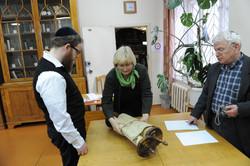 Photo 70 - Lenin Scientific Library - Guardian Brings Next Torah - YLK_6370.JPG