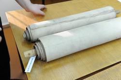 Photo 197 - Lenin Scientific Library - R. Koves Looks at Torah Library Catalogue
