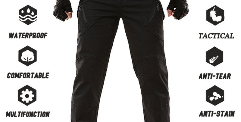 Military Tactical Pants Waterproof Cargo Pants For Men