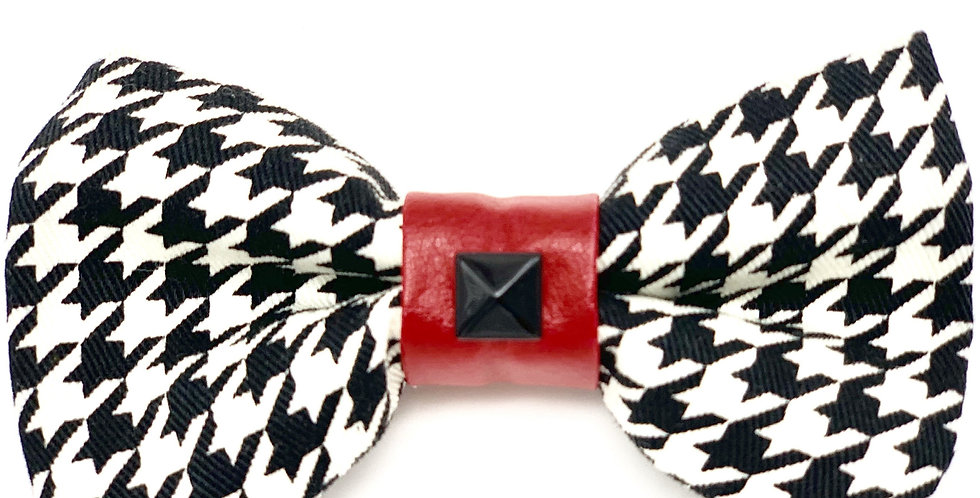 Xolotl Pied De Poule Bow Tie